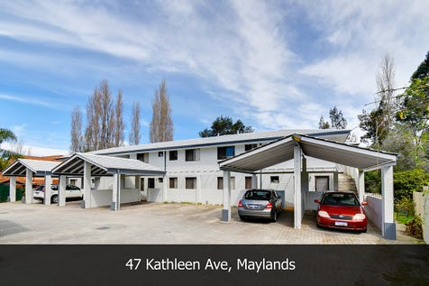 47 Kathleen Avenue, Maylands, 6051, North East Perth - Apartment / YOUR COOL PAD IN A PRIME LOCATION AWAITS... / Outdoor Entertaining Area / Carport: 1 / Built-in Wardrobes / Toilets: 1 / $239,000