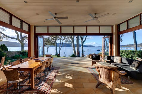 182 Hudson Parade, Clareville, 2107, Northern Beaches - House / Pittwater's Most Significant Position... / Garage: 2 / Study / P.O.A