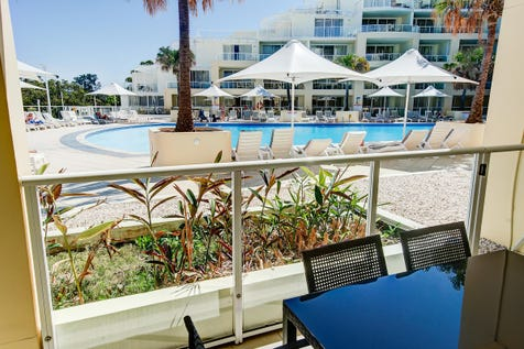 110/51 The Esplanade, Ettalong Beach, 2257, Central Coast - Apartment / Refurbished One Bedroom Apartment - Poolside! / Balcony / Built-in Wardrobes / Reverse-cycle Air Conditioning / $350,000