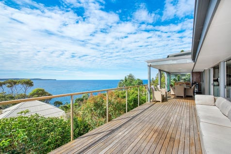 25 Rayner Road, Whale Beach, 2107, Northern Beaches - House / ELEVATED SECLUSION WITH SPECTACULAR COASTAL VIEWS / Balcony / Garage: 2 / Open Spaces: 2 / Secure Parking / Air Conditioning / Floorboards / $3,100,000