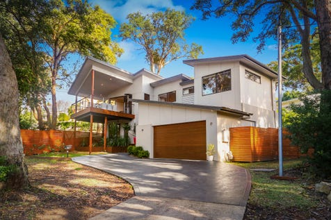 144 Ocean View Drive, Wamberal, 2260, Central Coast - House / ARCHITECTURALLY DESIGNED FAMILY BEACH HOME / Balcony / Swimming Pool - Inground / Garage: 2 / Secure Parking / Air Conditioning / $1,490,000