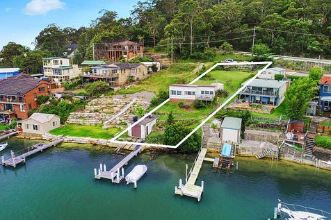 149 Rickard Road, Daleys Point, 2257, Central Coast - House / Absolute deep waterfront with private jetty and boatshed / Garage: 1 / $1,175,000