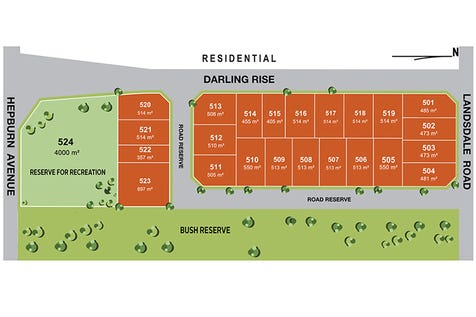 Lot 502, 334 Landsdale, Landsdale, 6065, North East Perth - Residential Land / Build your dream home on this fantastic 473 m2 size block / $319,770