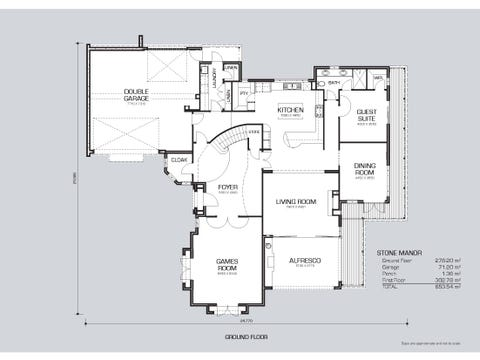 Stone Manor - floorplan