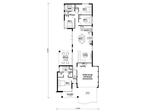 The Dominion - floorplan