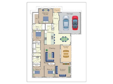 Pinotage - floorplan