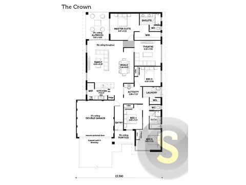 The Crown - floorplan
