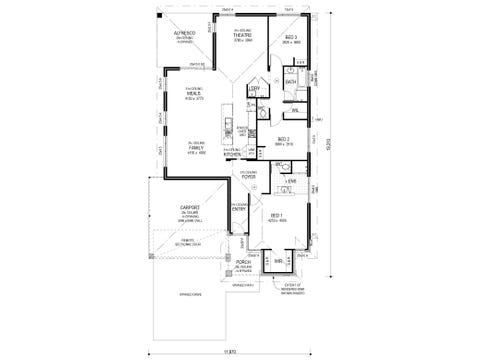 The Suite - floorplan