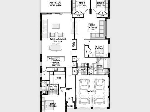 Oxford 25 (Vogue facade) - floorplan