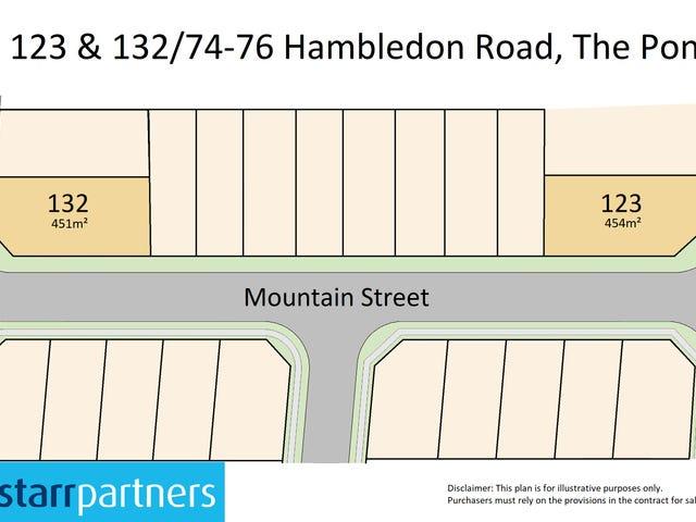 Lot 123 & 132 / 74-76 Hambledon Road, The Ponds, NSW 2769