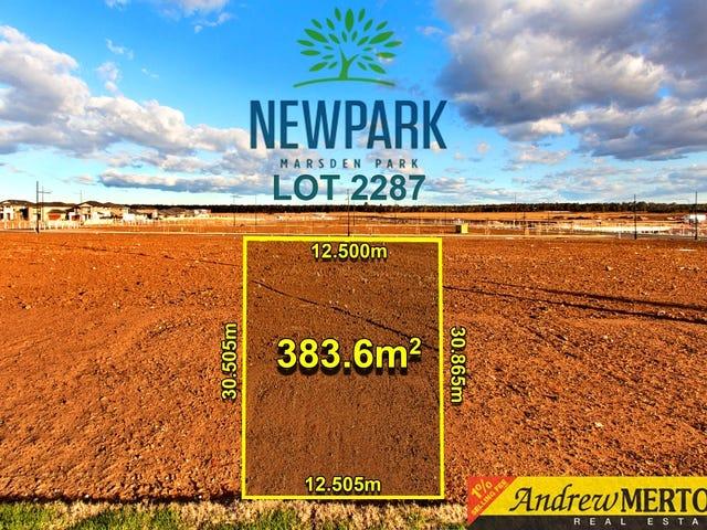 Lot 2287, Milnes Parade, Marsden Park, NSW 2765