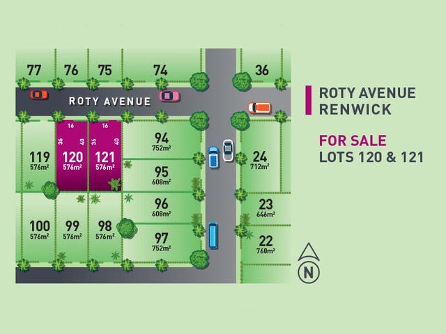 Lot 120 & 121 18-20 Roty Ave, Renwick, NSW 2575