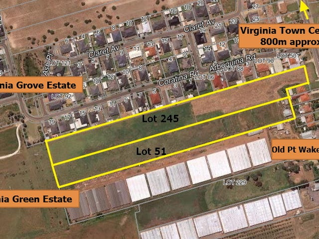 Lot 51 and Lot 245 Old Port Wakefield, Virginia, SA 5120