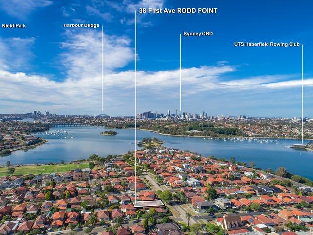 38 First Avenue, Rodd Point, NSW 2046