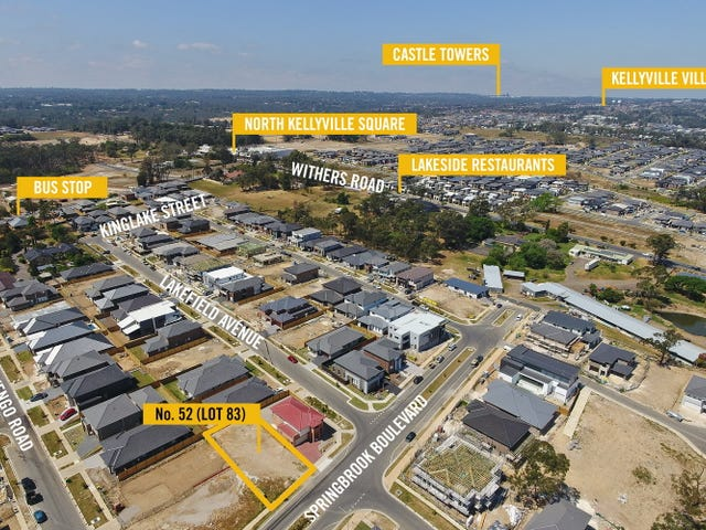 52 Springbrook Boulevard, Kellyville, NSW 2155