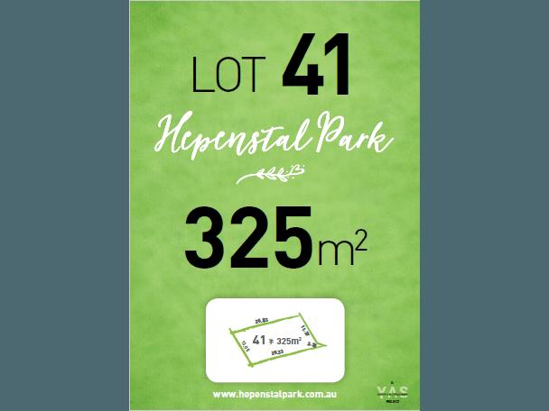 Lot 41, Hepenstal Park, Hackham, SA 5163