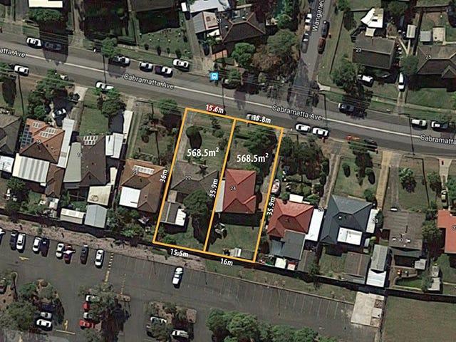 22 & 24 Cabramatta Avenue, Miller, NSW 2168