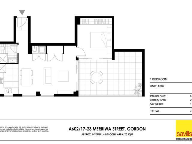 A602/17-23 Merriwa Street, Gordon, NSW 2072