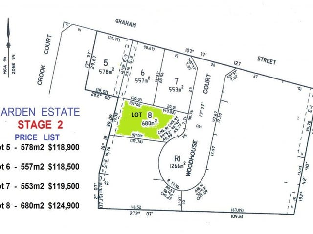 Lot 8, Woodhouse Court, Ballan, Vic 3342