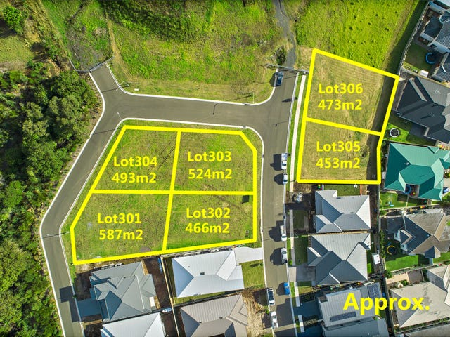 Lots 301-306 Holroyd Street, Albion Park, NSW 2527