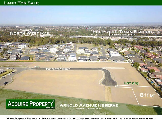 Proposed Lot 218 Purpletop Drive, Kellyville, NSW 2155