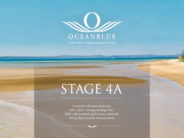 Stage 4a Ocean Blue Estate, Pialba, Qld 4655