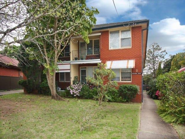 5/2 Melrose Street, Croydon Park, NSW 2133