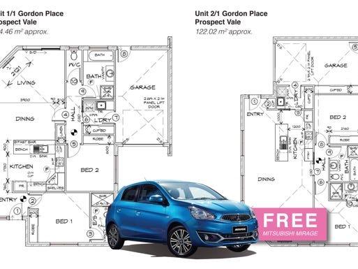 Units 1&2 1 Gordon Place, Prospect Vale, Tas 7250
