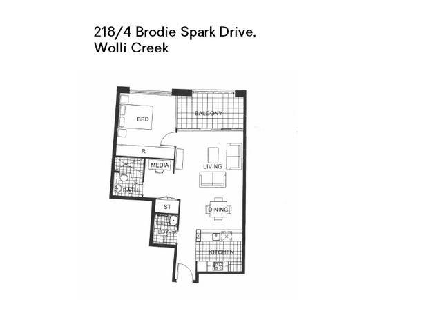 218/4 Brodie Spark Drive, Wolli Creek, NSW 2205