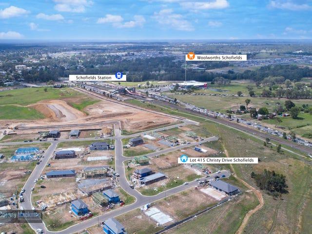 Lot 415 Christy Drive, Schofields, NSW 2762