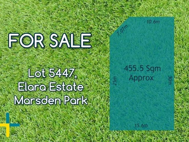 Lot 5447, Elara Estate Street, Marsden Park, NSW 2765