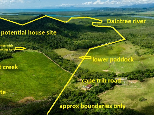 82 cape trib road kimberley, Daintree, Qld 4873