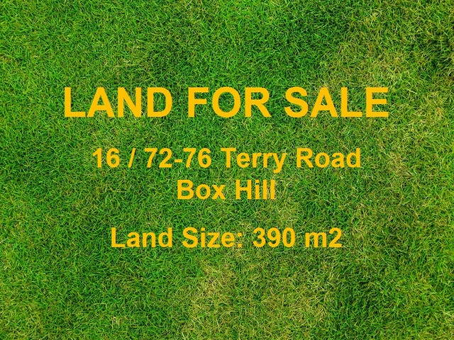 Lot 16, 72-76 Terry Road, Box Hill, NSW 2765