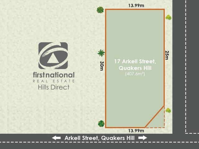 17 Arkell Street, Quakers Hill, NSW 2763