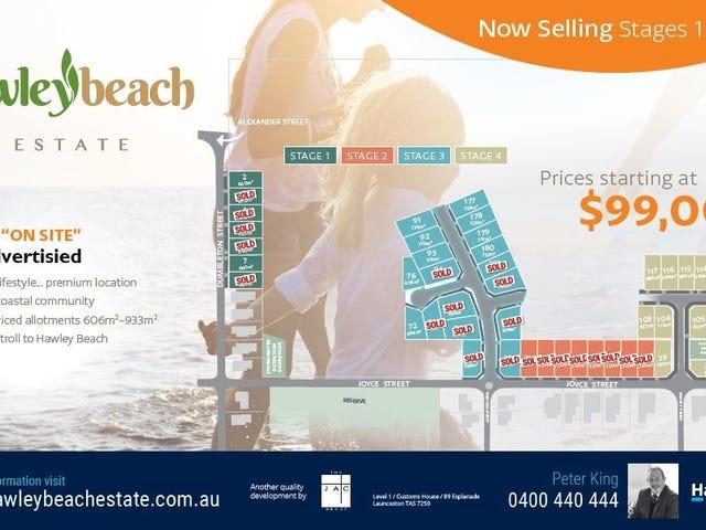 Land - Hawley Beach Estate, Hawley Beach, Tas 7307
