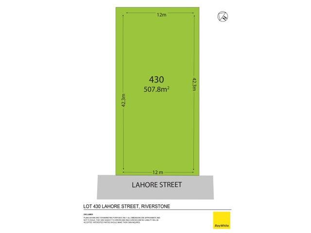Lot 430 Lahore Street, Riverstone, NSW 2765