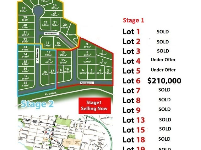 """Stage 1,2 & 3 """"River Heights"""" Edgecombe Street, Kyneton, Vic 3444"""