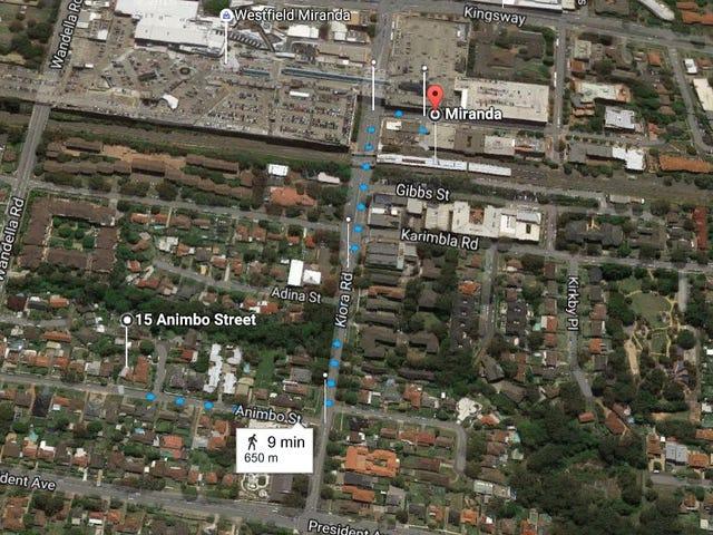 15 Animbo Street, Miranda, NSW 2228