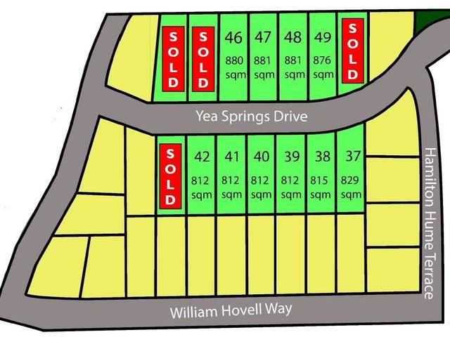 Lots 37-50 Yea Springs Drive, Yea, Vic 3717