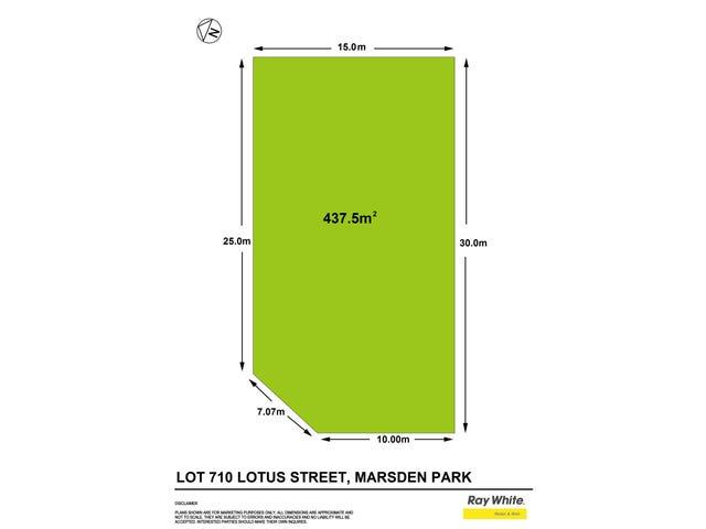 7 (Lot 710) Lotus Street, Elara Estate, Marsden Park, NSW 2765