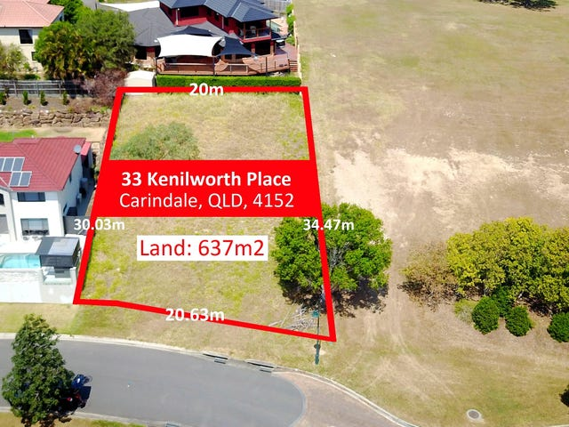33 Kenilworth Place, Carindale, Qld 4152