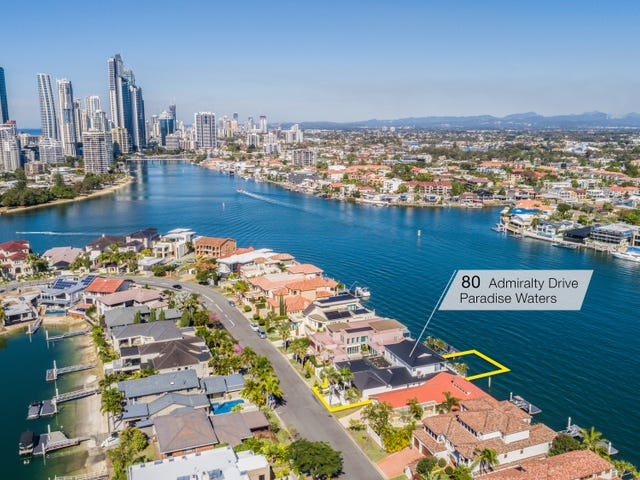 80 Admiralty Drive, Paradise Waters, Qld 4217