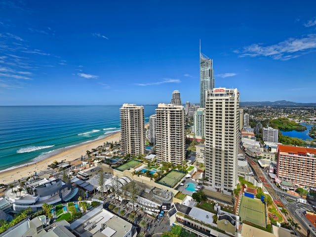 22605/3113 'Hilton' Gold Coast Highway, Surfers Paradise, Qld 4217