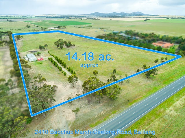 2410 Bacchus Marsh Road, Balliang, Vic 3340
