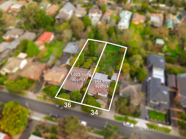 34 & 36 Melrose Street, Mont Albert North, Vic 3129