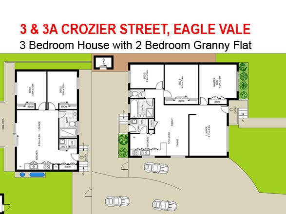 3 & 3A Crozier Street, Eagle Vale, NSW 2558