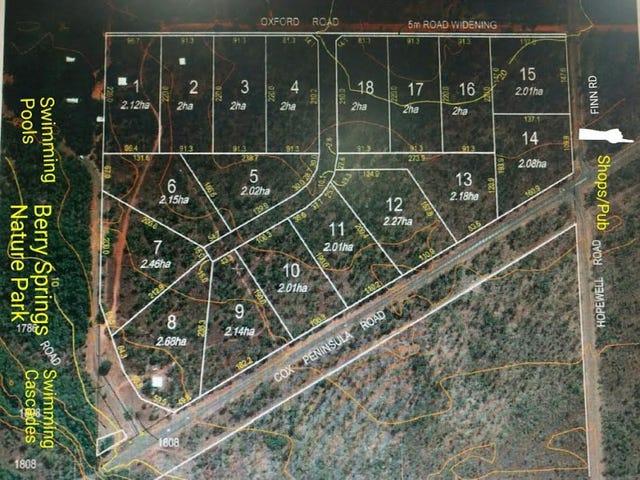 BERRY SPRINGS ESTATE, Berry Springs, NT 0838