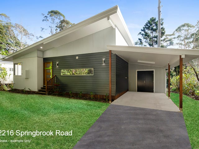 2216 & 2218 Springbrook Road, Springbrook, Qld 4213