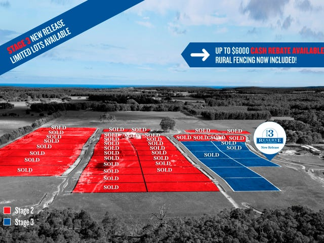 Lots 33-219 9000 Redgate Road, Witchcliffe, Margaret River, WA 6285