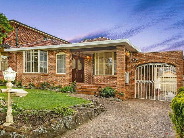 30 Raymond Avenue, Roselands, NSW 2196